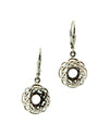Women's Window To The Soul Scalloped Earrings