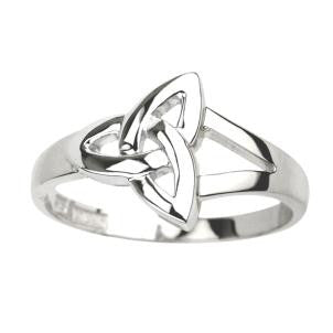 Sterling Silver Trinity Knot Ring - S2679 by Solvar