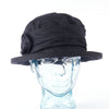Black Irish Linen Downton Abbey Style Ladies Hat