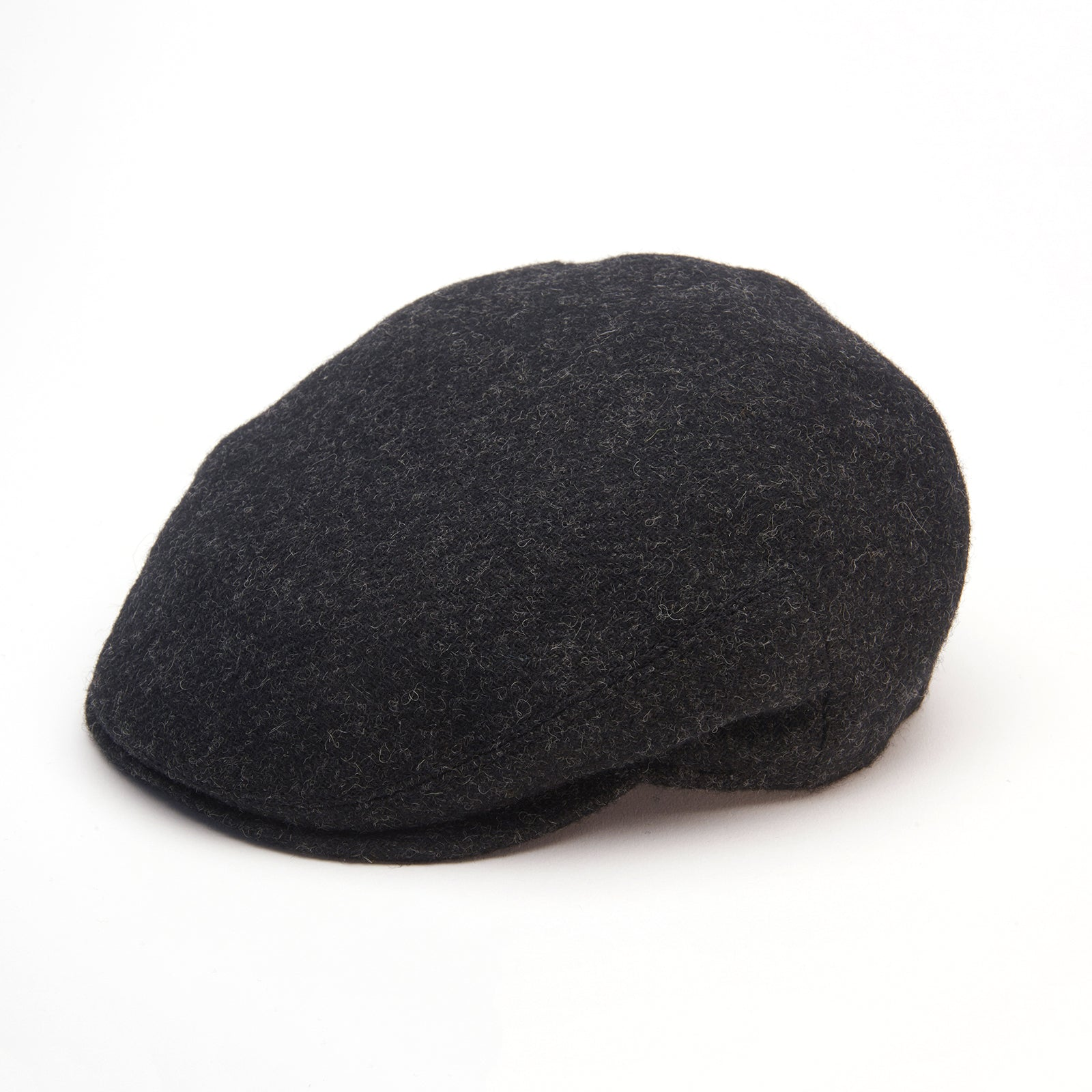 Jonathan Richard -  Charcoal Tweed Mens Cap