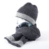 Merino Scarf and Beanie - Grey