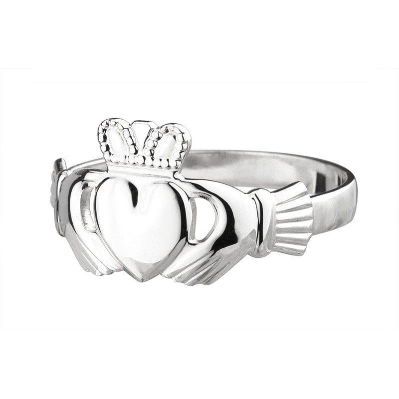 S2279 Baby Claddagh Ring - Sterling Silver