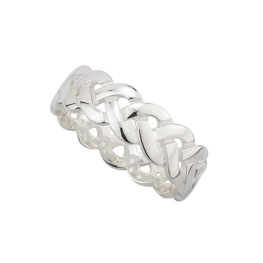 S2996 Celtic Knot Band - Sterling Silver