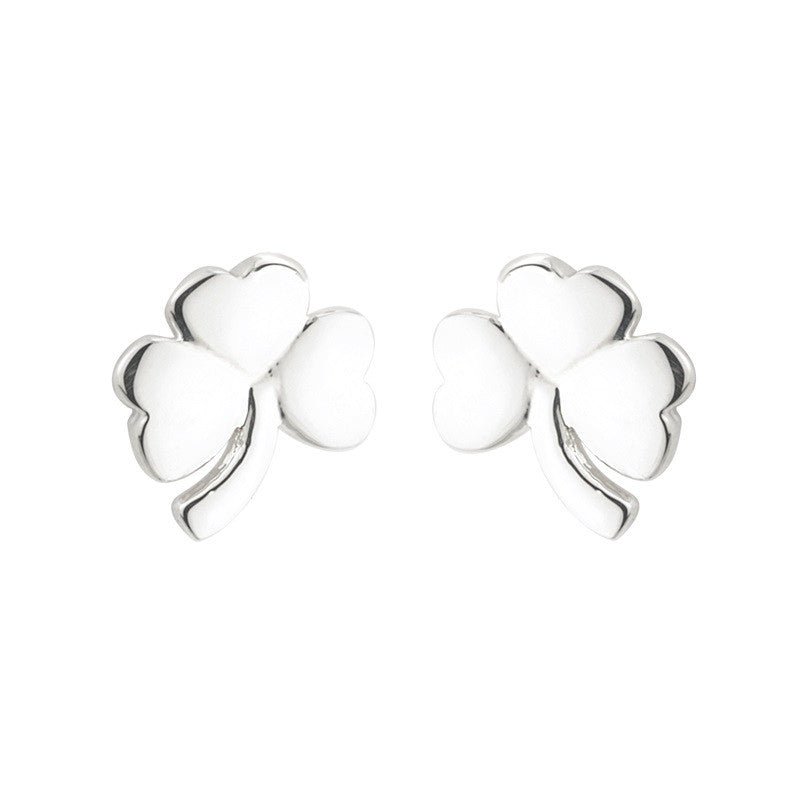 Shamrock Stud Earrings S/S - S33100
