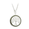 Connemara Marble Tree of Life Pendant S/S - S45531