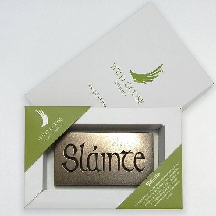 Slainte - Small Plaque