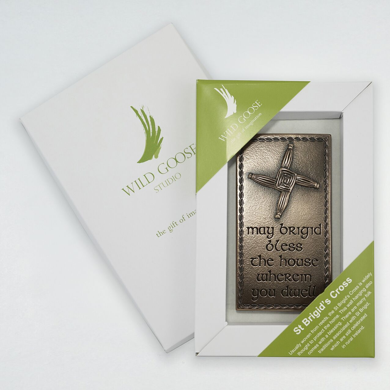 St. Brigid's Cross - Small Plaque