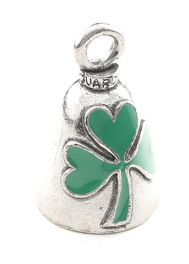 Green Shamrock Guardian Bell
