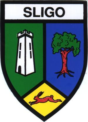 Irish County Car Sticker - Sligo