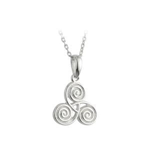 Small Celtic Spiral S/S - S4318