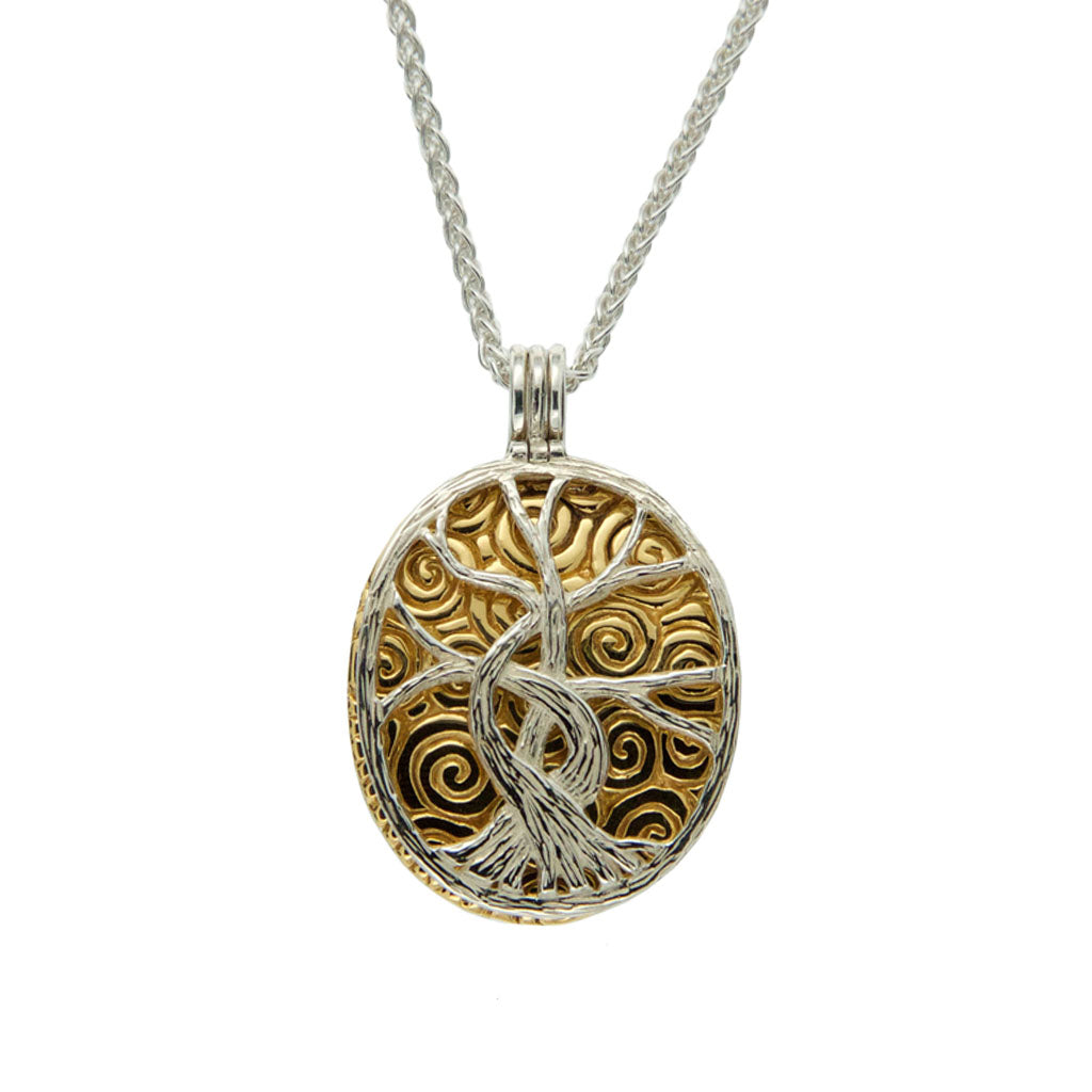 Women's Tree of Life Four Way Pendant