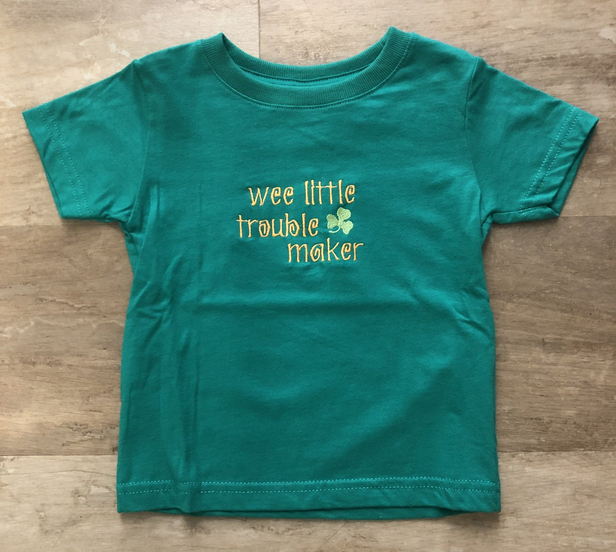 Wee Little Troublemaker Kids T-Shirt