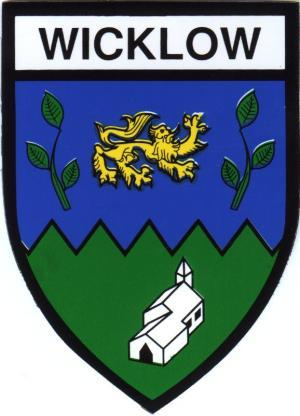 Irish County Car Sticker - Wicklow