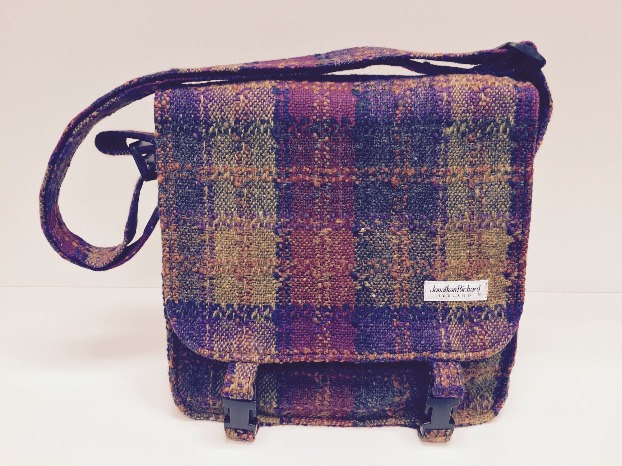Jonathan Richard Wicklow Tweed Messenger Bag #1
