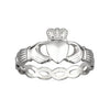 S2550 Woven Claddagh Ring for Ladies by Shanore