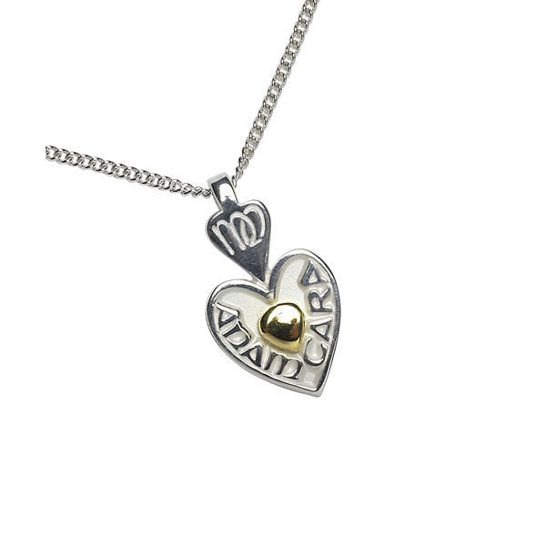 Mo Anam Cara (My Soulmate) Pendant with 18K Gold Center