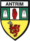 Irish County Car Sticker - Antrim