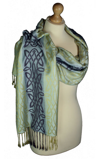 Women's Celtic Pashmina Scarf