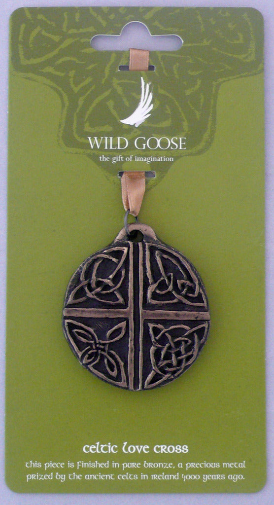 Celtic Love Cross Ornament
