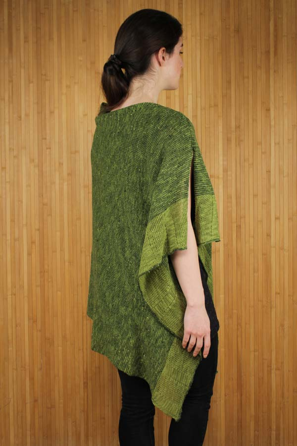 Irish Linen and Merino Wool Donegal Cape
