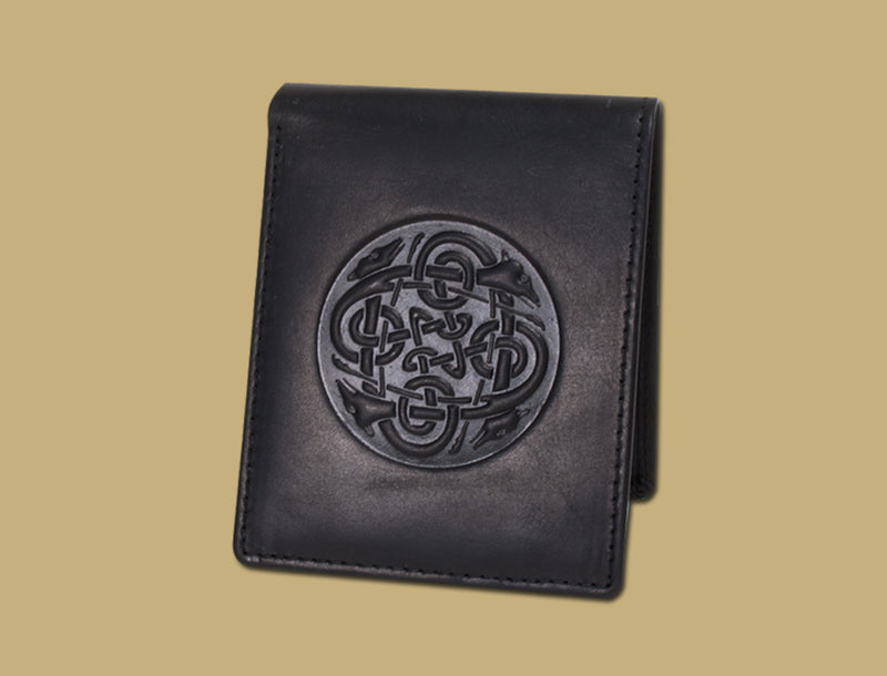Mens Leather Wallet - Hounds
