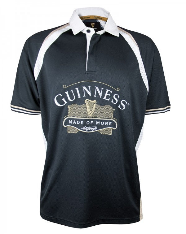 Guinness Black Made of More Rugby Jersey - G1016