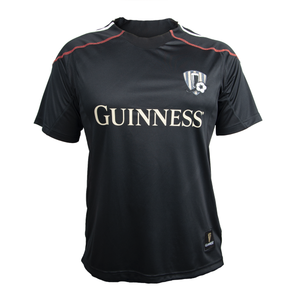 Guinness Black and Red Stripe Soccer Jersey - G4504