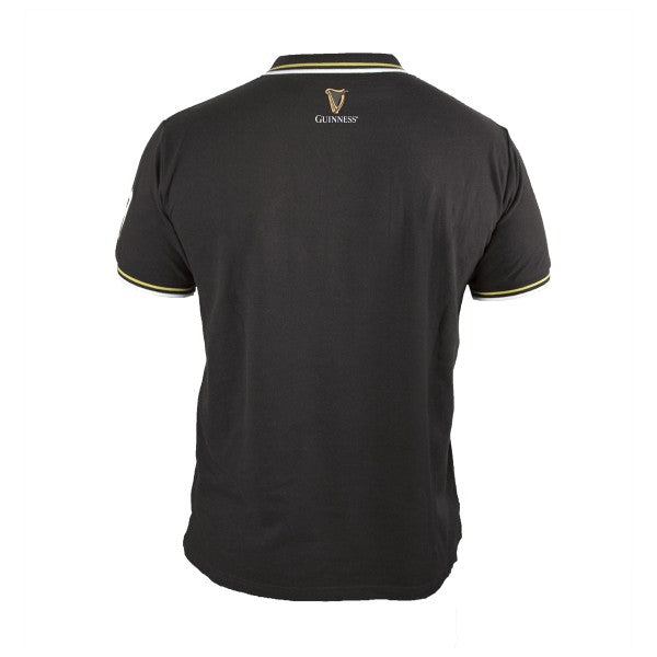 Guinness Black Pique Polo Shirt - G6106
