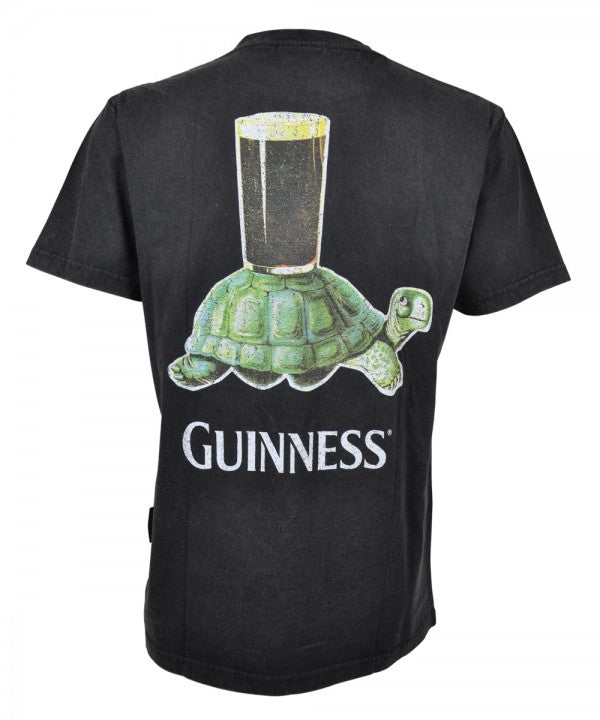 Guinness Premium Tee with Vintage Turtle Back Graphic - GC005