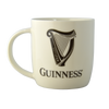 Guinness White Mug with Harp Logo