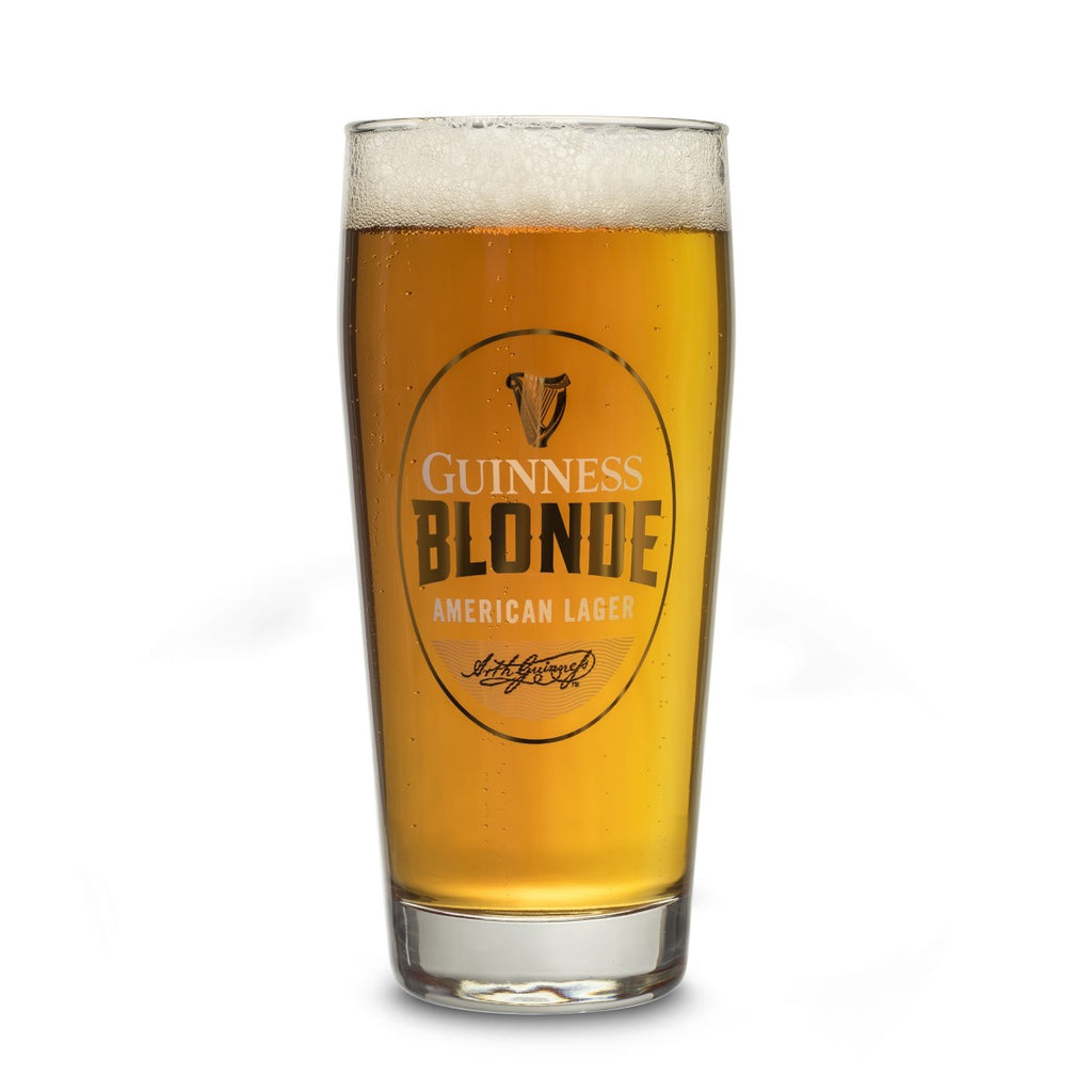 Guinness Blonde 20 oz Pint Glass