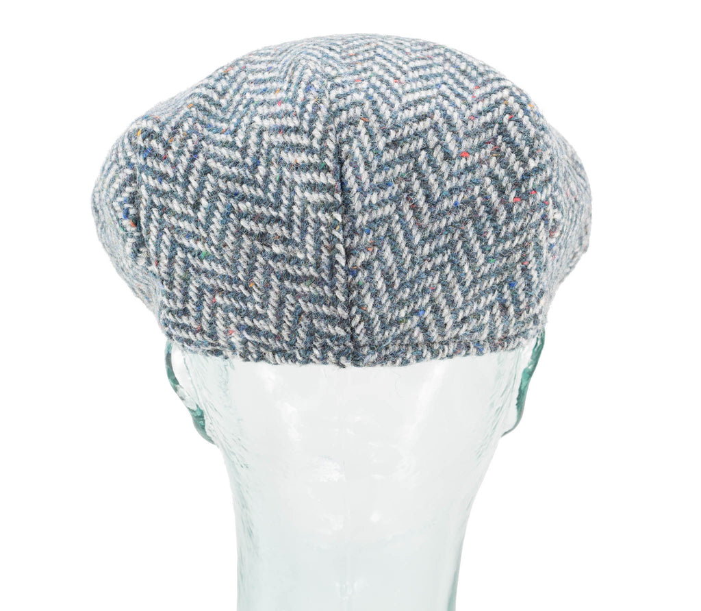 Herringbone Tweed - Hanna Hats - Vintage Style Cap