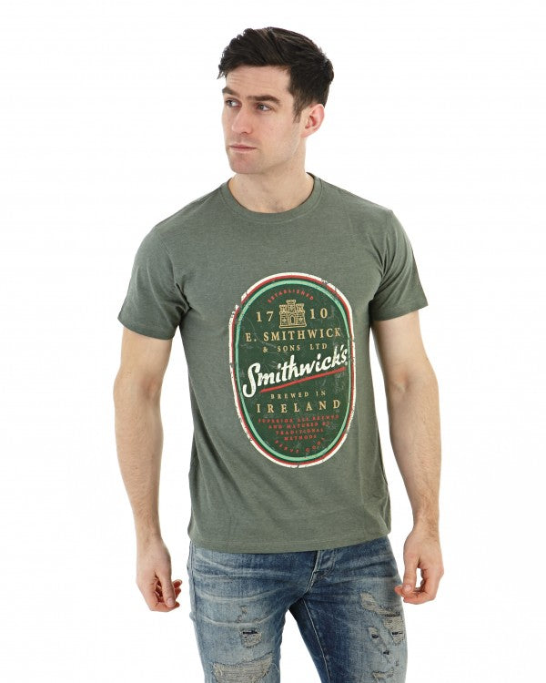 Smithwicks Distressed Label Tee - SM6002