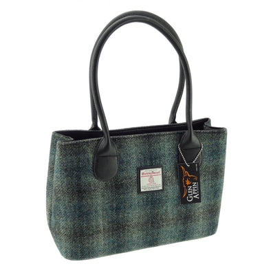 Classic Harris Tweed Handbag - Cassley LB1003