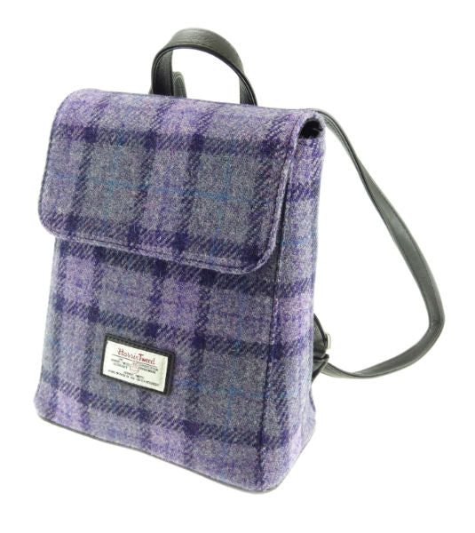 Harris Tweed Mini Backpack