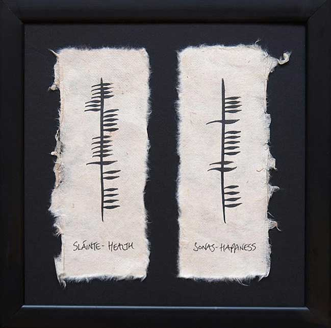 Health/Happiness - Ogham Wishes