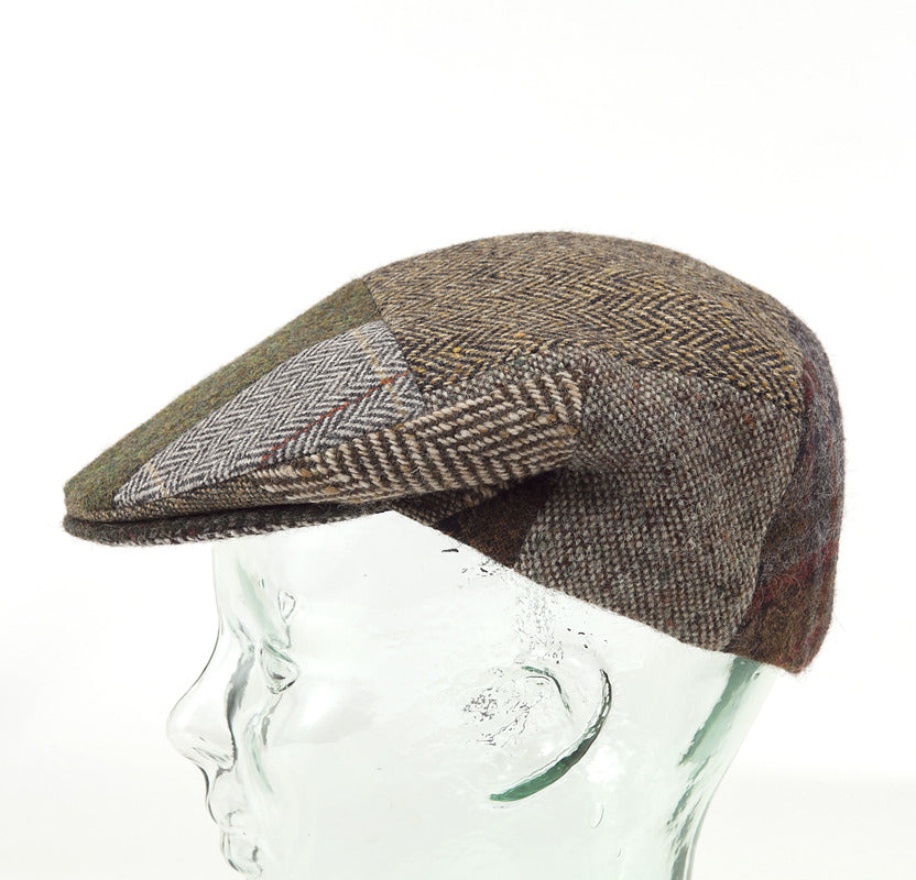 Patchwork Irish Flat Cap