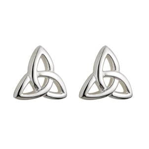 Child's Trinity Knot Stud Earrings