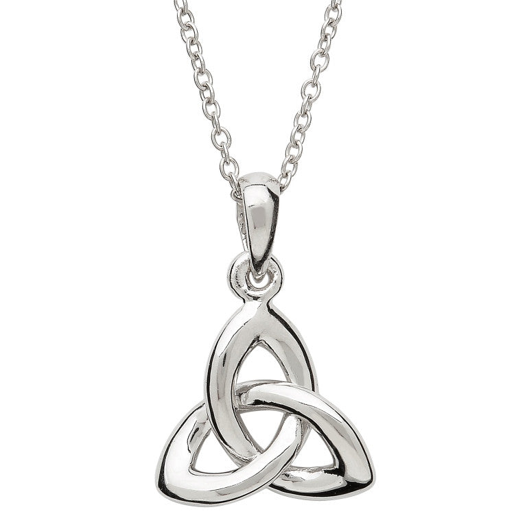 SP2200 Trinity Knot Sterling Silver Necklace by Shanore