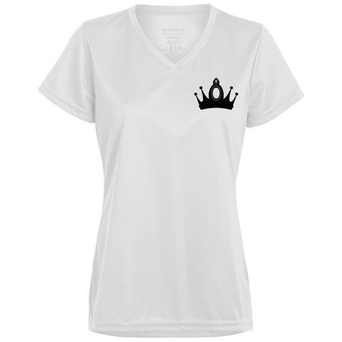 Queen Crown/Queen 01 Back & Front Wicking T-Shirt