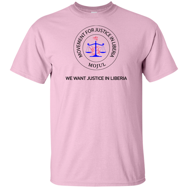 MOJUL/We Want Justice In Liberia T-Shirt