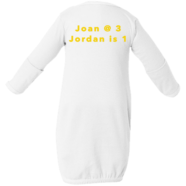 Joan@3 Jordan is 1 Infant Layette
