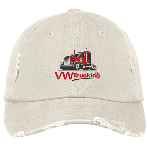 VW TRUCKING District Distressed Dad Cap