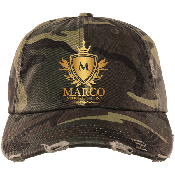 MARCO INTL Distressed Dad Cap