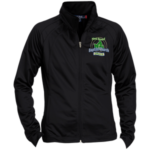 New Breed Baptist Grace Ladies' Raglan Sleeve Warmup Jacket