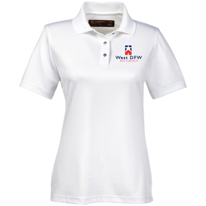West DFW REI Ladies' Snap Placket Performance Polo