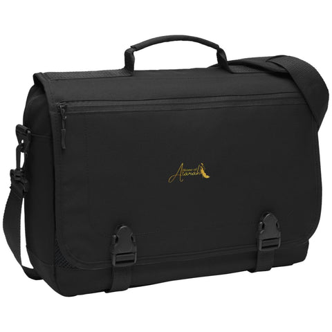 House of Atarah logo House of Atarah Messenger Briefcase