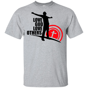 Love God, Love Others/CTM T-Shirt Front/Back