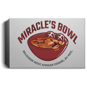 Miracle's Bowl Deluxe Landscape Canvas 1.5in Frame