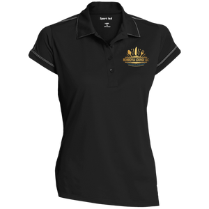 Monrovia Lounge Ladies' Contrast Stitch Performance Polo
